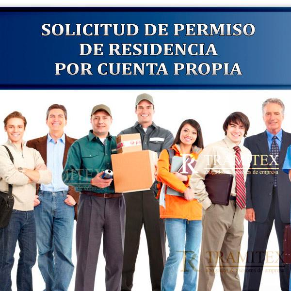Solicitud de permiso de trabajo por cuenta propia
